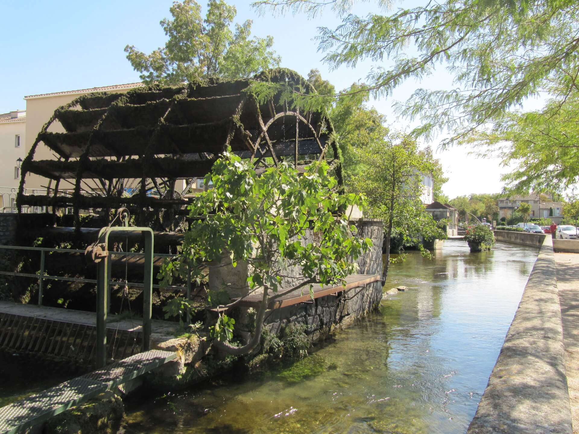 L'Isle sur la Sorgue water wheel