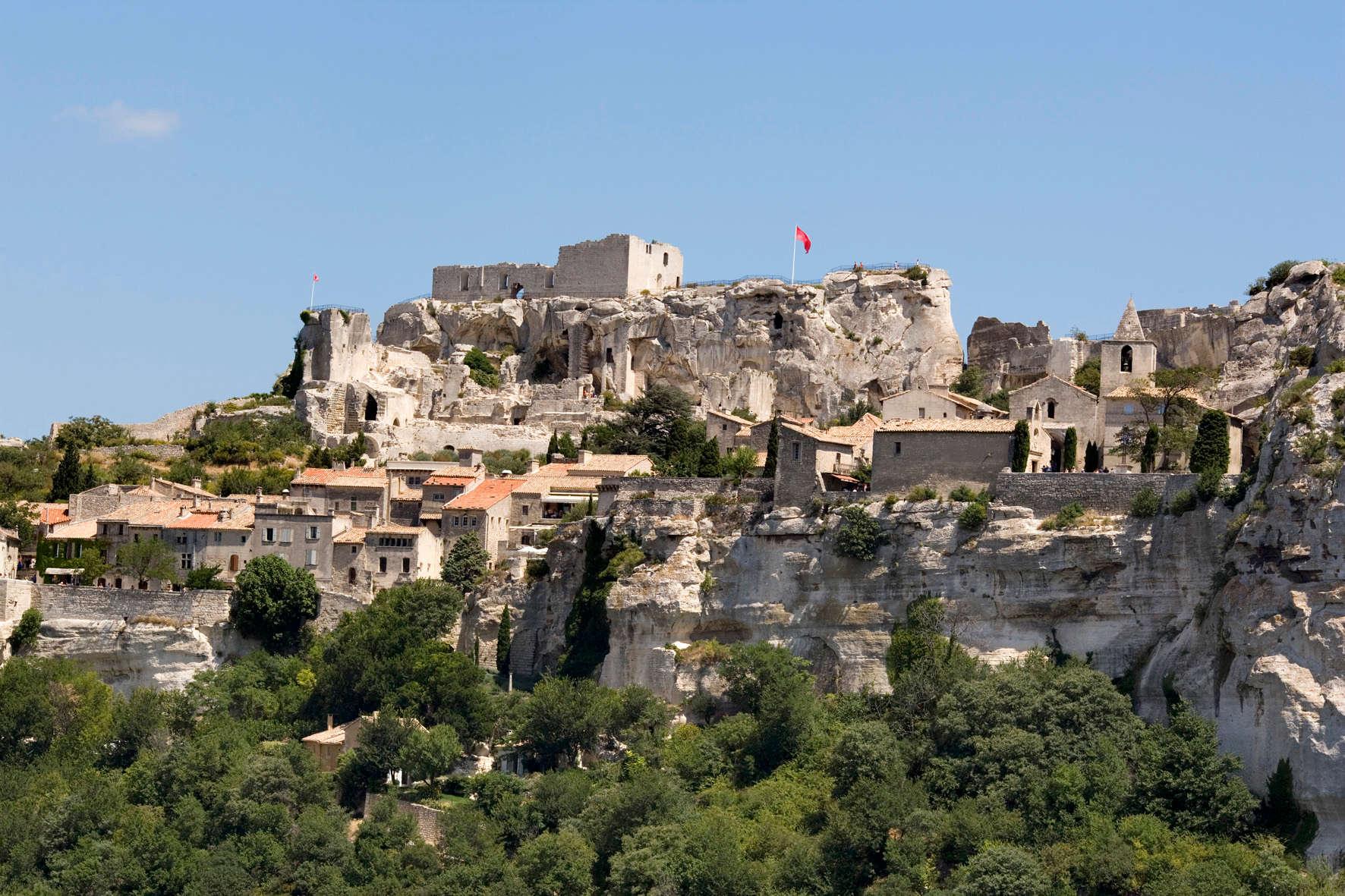 La Citadelle des Baux Aout 2005
