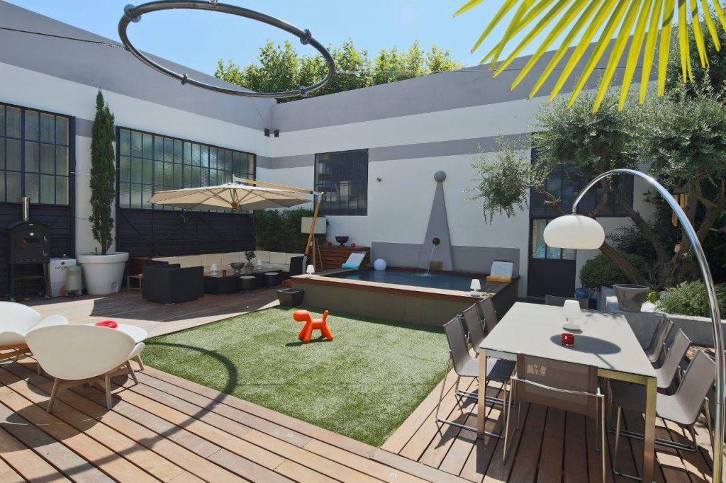 Location villa de luxe le loft pr s d 39 avignon mas amor - Loft salon de provence ...