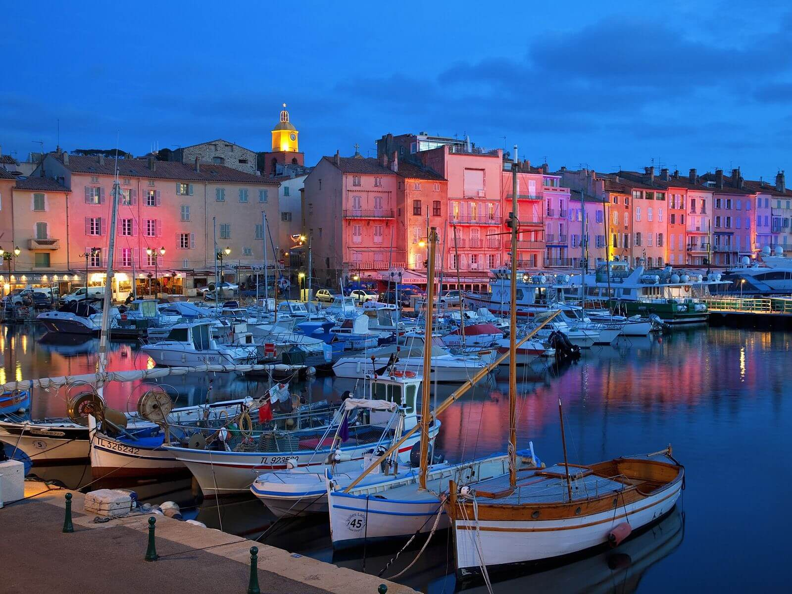 saint-tropez port